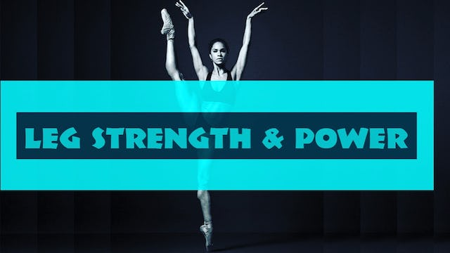 Leg Strength & Power workout