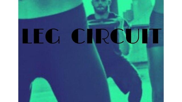 Leg strength circuit