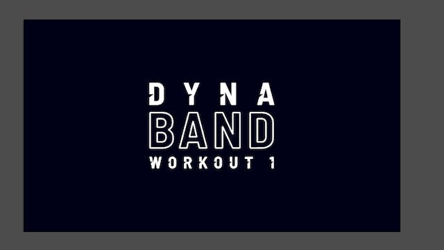 TOTAL BODY WORKOUT WITH DYNA BAND