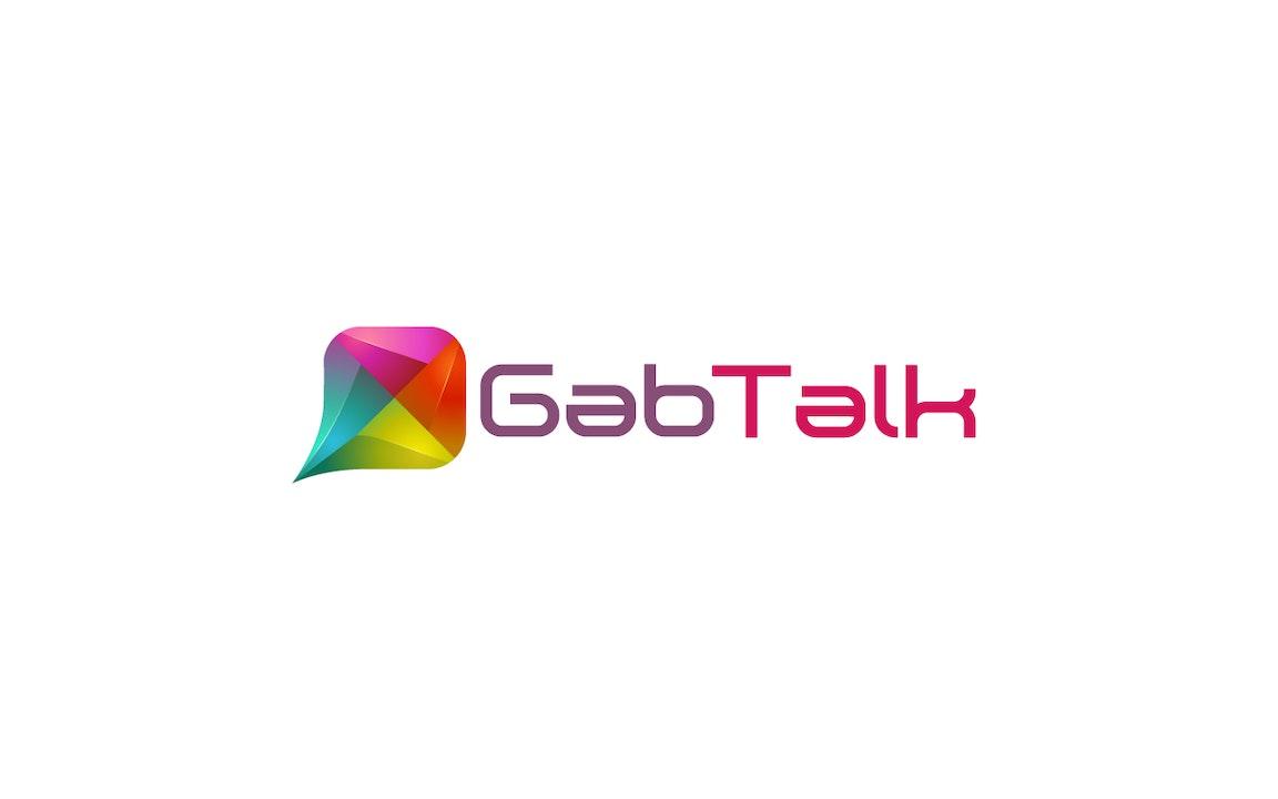 Gab Talk Blurred