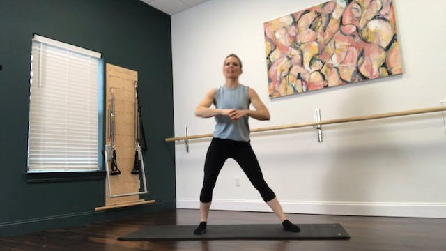 Pilates Mat with Balance Practice - 4...