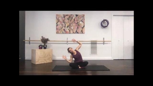 Pilates Mat - 45 min - 03/30/2020