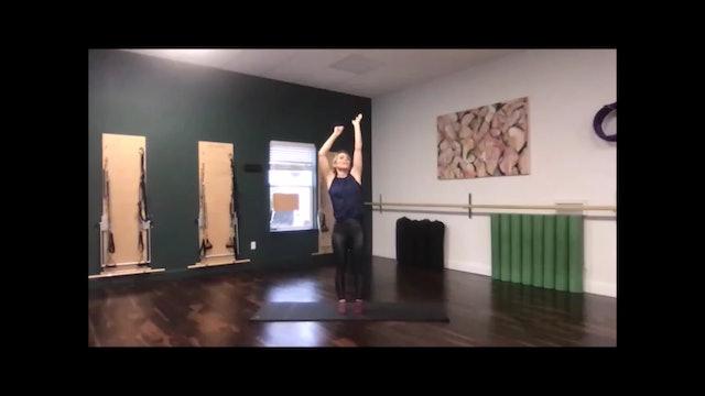Just Sweat - A Pilates Barre Mashup - 38 min  - 03/19/2020