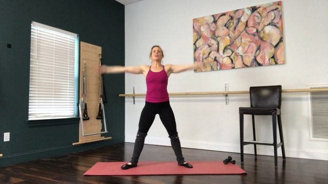 BeyondBarre with Weights - 46 min - 05/12/2020