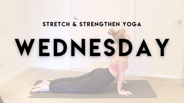 YOGA TO STRETCH & STRENGTHEN
