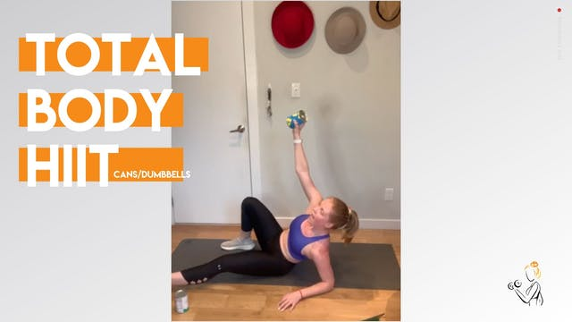 TOTAL BODY with Can/Dumbells