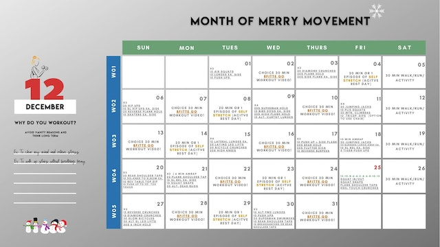 VIEW MONTH OF MERRY MOVEMENT