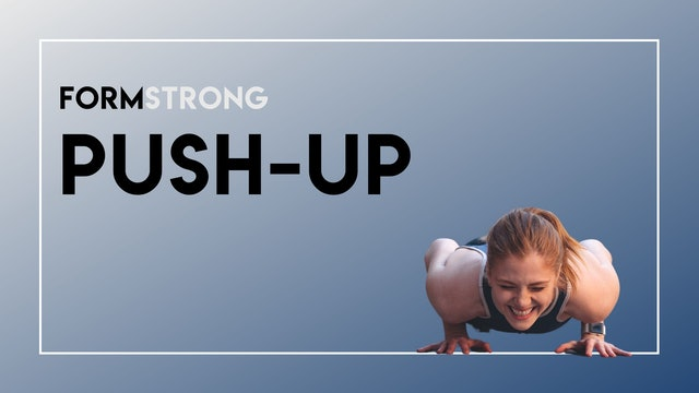 FORMSTRONG: PUSH-UP