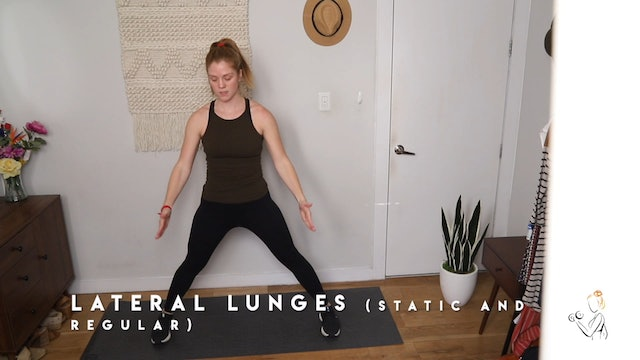 LATERAL LUNGE DEMO