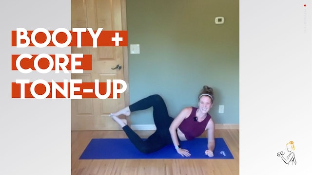BOOTY + CORE TONE-UP