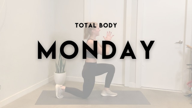 TOTAL BODY MONDAY