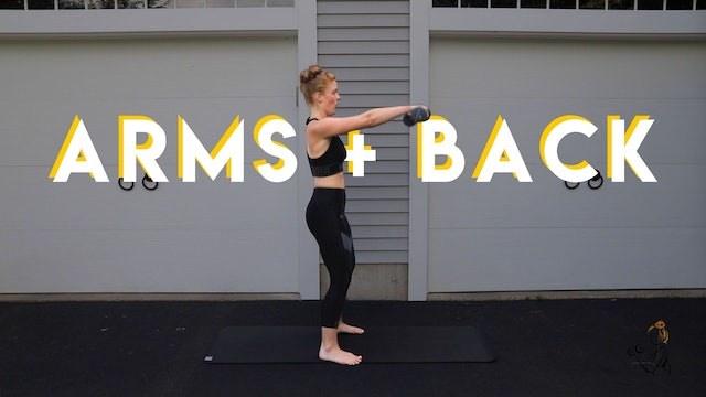 ARMS & BACK
