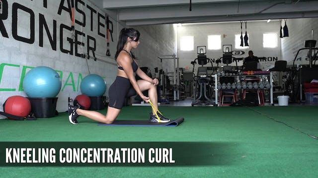 19 Kneeling Concentration Curl