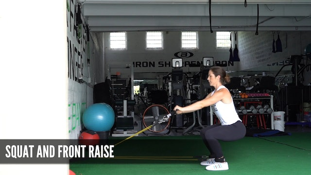 16_Squat and Front Raise