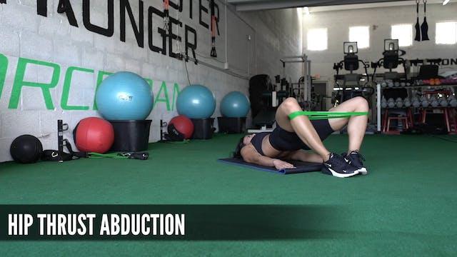 14 Hip Thrust Abduction