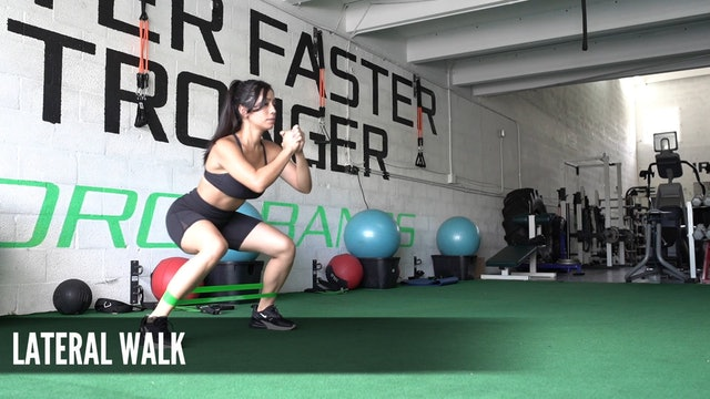 02 Lateral Walk