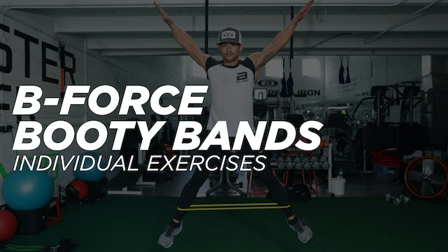 B-Force Mini Loop aka Booty Bands - Individual Exercise Workout Library