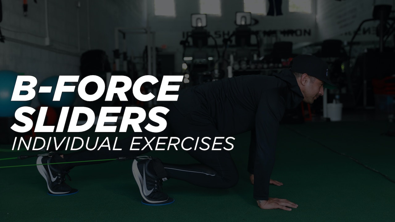 B-Force Sliders - Individual Exercise Workout Library