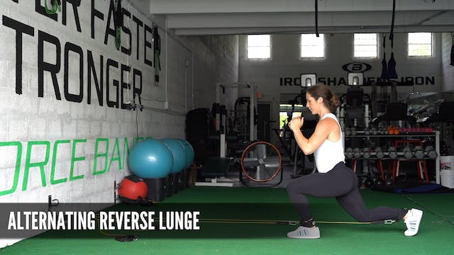 02_Alternating Reverse Lunges