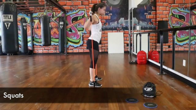 B-Force Bar Lower Body WOD