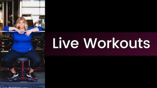 Live Workouts
