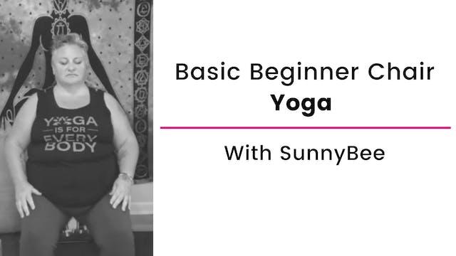 Beginner Basics Chair Yoga