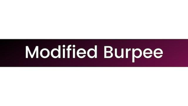 Modified Burpee