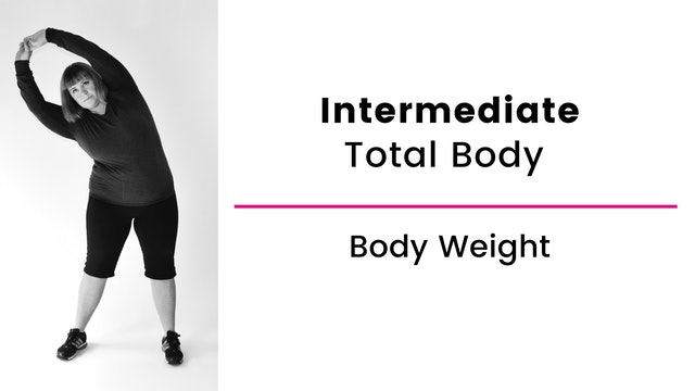 Intermediate: Total Body with Body Weight