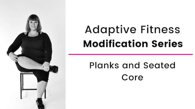 Plank & Seated Core