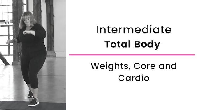 Intermediate: Total Body with Weights...