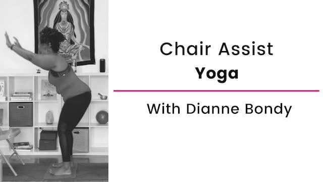 Chair Assist Yoga