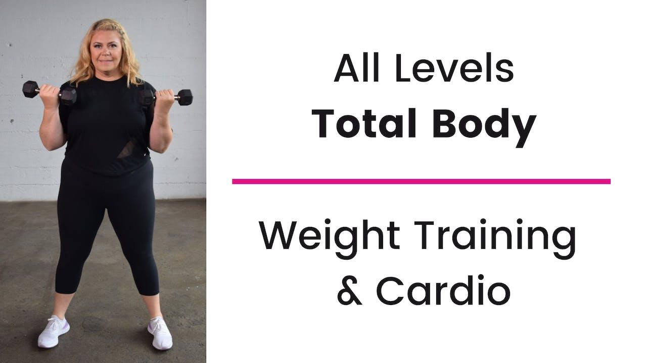 Weight Training & Cardio Home Fitness