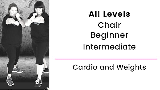 All Levels: Cardio and Weights