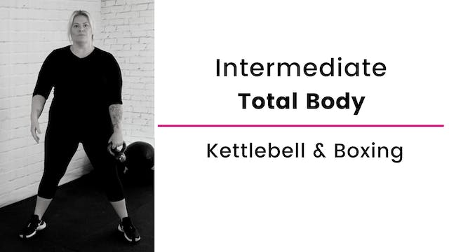 Kettlebell Workout with Boxing Bursts
