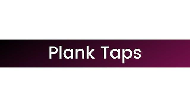 Plank Taps