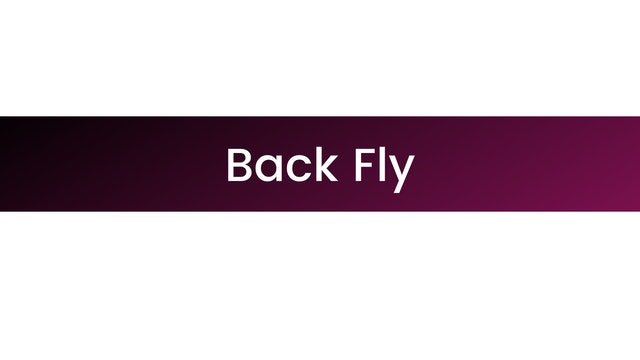 Back Fly