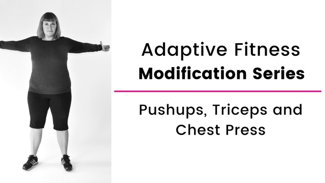 PushUps, Triceps & Chest Press