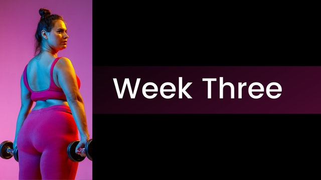 Amp it Up! Week Three