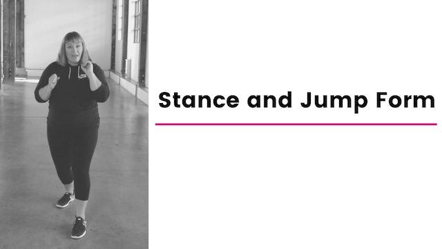 Stance & Jump Form