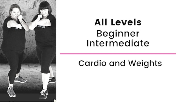 Beginner and Intermediate: Cardio and Weights