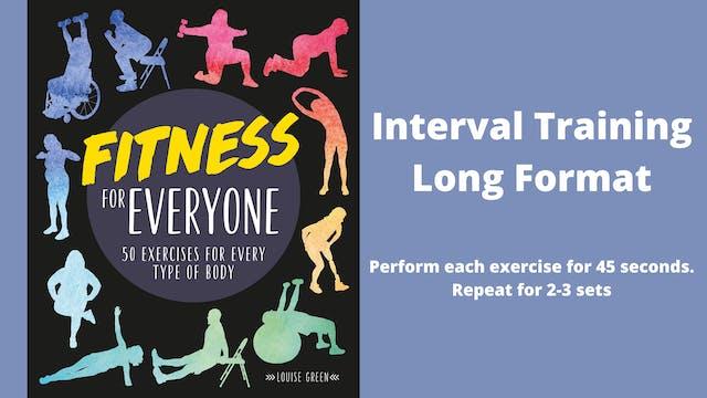 Interval Training Long Format