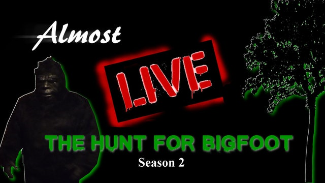 Almost Live: The Hunt For Bigfoot