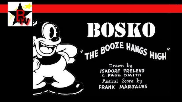 Bosko in The Booze Hangs High