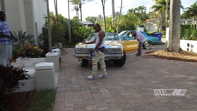 Summer Night in Miami at the mansion where Donk Racing started
