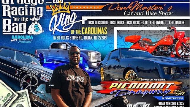 Piedmont drag way Carolina NT Blood Wars DONKMASTER Car/Truck/Bike show - Part 1