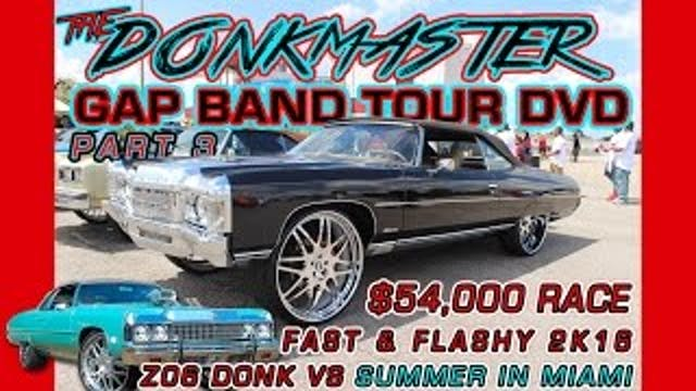 THE DONKMASTER GAP BAND TOUR DVD PART 3