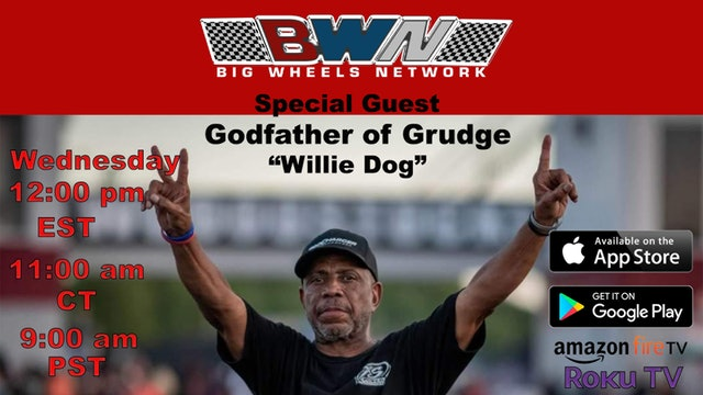 """Staging Lane Podcasts -Willie Dog """"Godfather of Grudge Interview"""