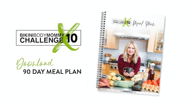 BBMC 10: 90 Day Meal Plan