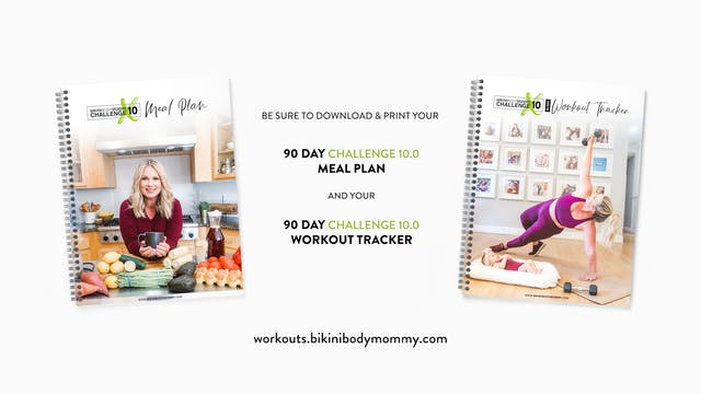 BBMC10: Meal Plan & Workout Tracker