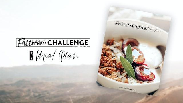 FILWF: Meal Plan